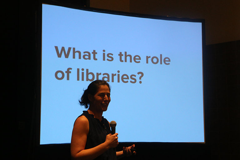 What is the role of a Library